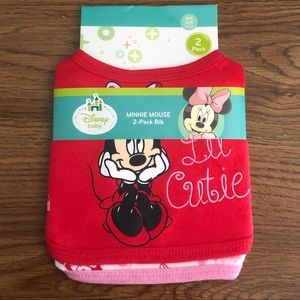 Baby bibs bundle Christmas/Minnie mouse